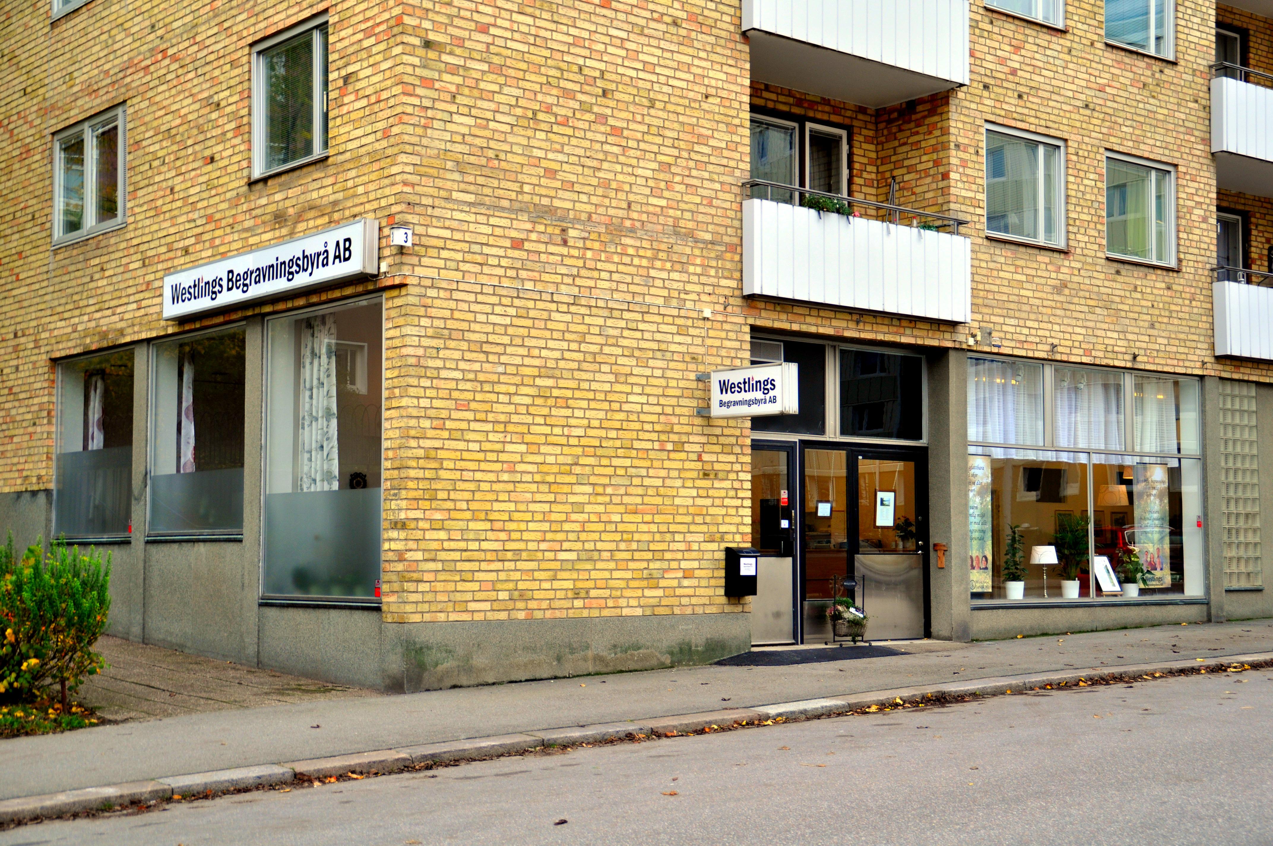 Westlings Begravningsbyrå, Rosenhällsgatan 3 Eskilstuna