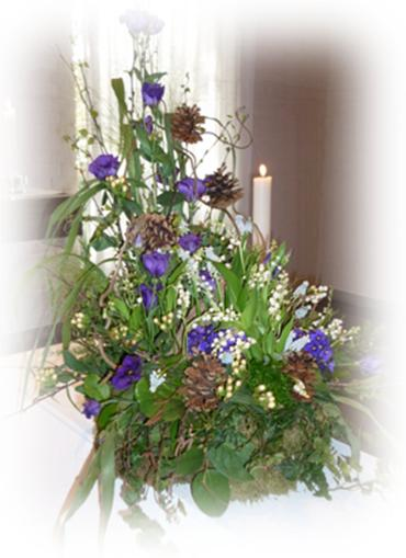 Inspirationsförslag på begravningsblommor