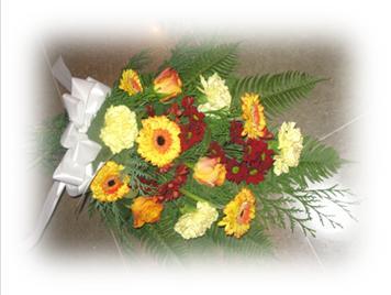 Lösbundna blomsterbuketter
