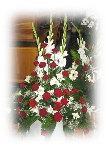 Stående blomsterbuketter nr 13-20